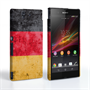 Caseflex Sony Xperia Z Retro Germany Flag Case