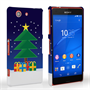 Caseflex Sony Xperia Z3 Compact Christmas Night Tree & Presents Hard Case