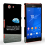 Caseflex Sony Xperia Z3 Compact Neil Armstrong Quote Case