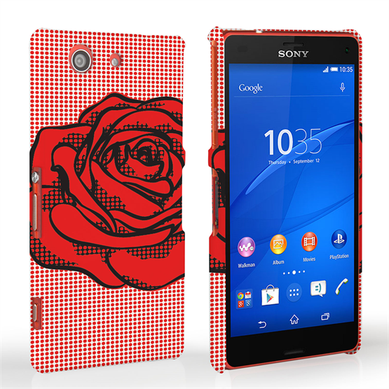Caseflex Sony Xperia Z3 Compact Pop Art Rose Case
