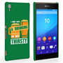 Caseflex Sony Xperia Z3+ 'Really Thirsty' Quote Hard Case – Green