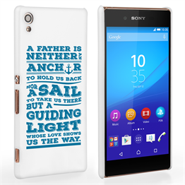 Caseflex Father Sail Quote Sony Xperia Z3+ Case