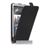 Caseflex HTC One Max Real Leather Flip Case - Black