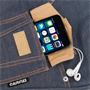 Caseflex Denim Tablet Bag - Blue