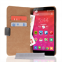 Caseflex OnePlus Two Real Leather Wallet Case - Black