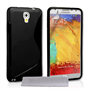 Caseflex Samsung Galaxy Note 3 S-Line Gel Case - Black